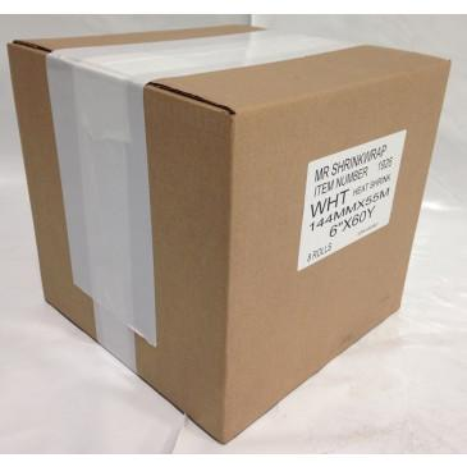 "Case of 6"" x 180' Shrink Film Tape - 8 Rolls - MSW-706-Case"