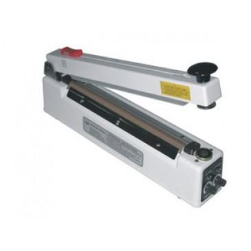 """Hand Sealer 16"""" x 5mm w/ Cutter & Magnetic Hold Impulse Heat Seal AIE-405MC"""