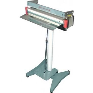 """Impulse Heat Sealer 24"""" Stainless Steel 2mm Seal Foot Operated AIE-600FS"""