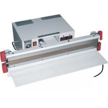 "Vacuum 24"" x 10mm Heat Sealer Double Impulse AIE-610VAD"