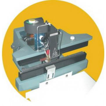 Constant Heat Sealer & Hot Stamp Imprinter, 14x2 Letters, 8mm x 28mm Seal AIE-661HS