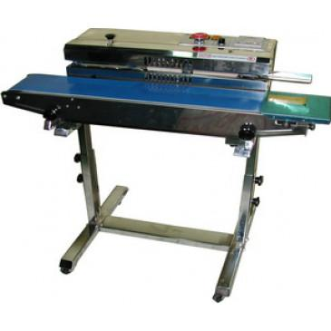 Band Sealer 40'/min Continuous Horizontal w/ Stand AIE-883BS