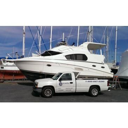 Bridge Boat Shrink Wrapping Service Choose Size