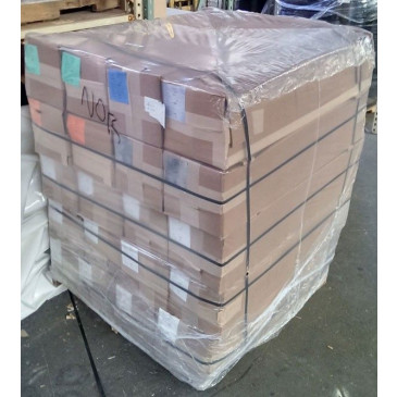 "50"" x 42"" x 66"" Gusseted Shrink Pallet Bags - 6mil Clear - 20bags/roll"