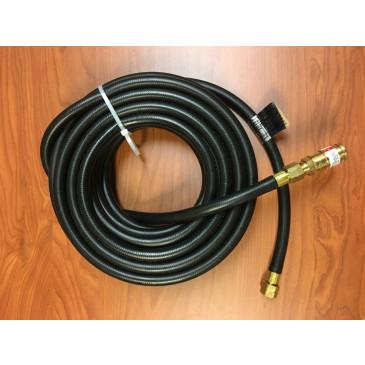 25' UL Listed Rubber Hose for Hornet Heat Guns