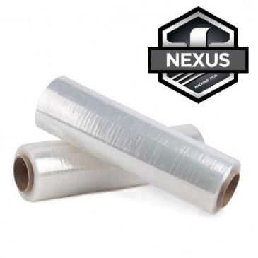 "20"" X 9000' Stretch Wrap 50 Gauge Nexus Machine Film (Pallet of 40 Rolls)"