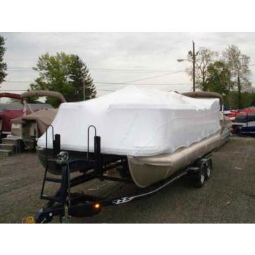 22' Pontoon Universal (4' Height) Boat Cover by Transhield