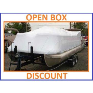 24' Pontoon Universal (4' Height) Boat Cover by Transhield - OPEN BOX