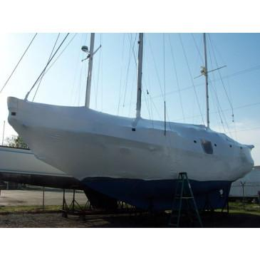 Sail Boat Shrink Wrapping Service