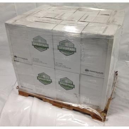"18"" X 1000' Spartan Stretch Wrap 83 ga. Pallet of 24 Cases, 96 Rolls"
