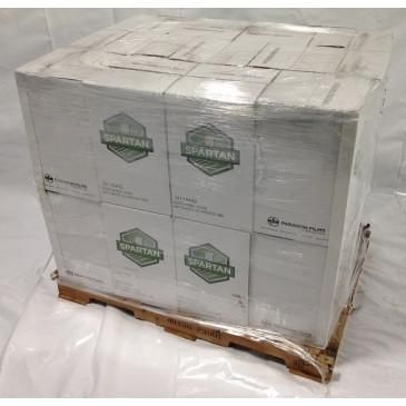 "18"" X 1500' Spartan Stretch Wrap 51 ga. Pallet of 24 Cases, 96 Rolls"