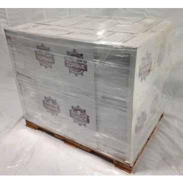 "13.5"" X 1500' Torque Stretch Wrap 32 ga. Pallet of 36 Cases, 144 Rolls"