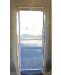 "36"" x 84"" Construction Zipper Access Door"