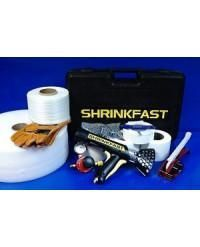 Single Large Boat Shrink Wrap Kit - Heat Gun, Tools & Accessories - Includes Shrinkfast 998