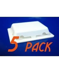 5-Pack Weather Tight Self-Adhesive Shrink Wrap Vent