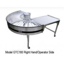 "16"" Wide 180 Degree Gravity Turnaround Conveyor by HEAT SEAL"