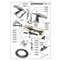 Ripack 3000 Heat Gun Body with O-Rings - Part #233418