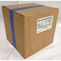 "Case of 2"" x 180' Shrink Film Tape - 24 Rolls - Blue - MSW-702B-Case"
