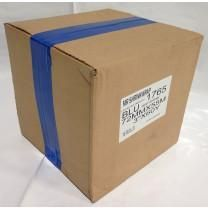 "Case of 3"" x 180' Shrink Film Tape - 16 Rolls - Blue - MSW-703B-Case"
