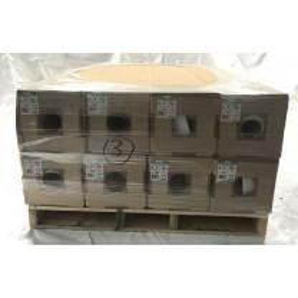 40' x 60' 12 Mil Husky Brand Fire Retardant Shrink Wrap - White - Pallet of 8 Rolls