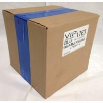 "Case of 4"" x 180' Shrink Film Tape - 12 Rolls - Blue - MSW-704B-Case"