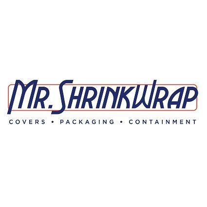 32' x 186' 7 Mil Husky Brand Shrink Wrap - Blue - Pallet of 6 Rolls