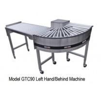 "22"" Wide 90 Degree Gravity Turnaround Conveyor by HEAT SEAL"