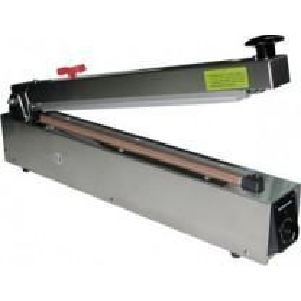 "Hand Heat Sealer 20"" w/ Cutter Stainless Steel 2mm Seal AIE-500HCS"