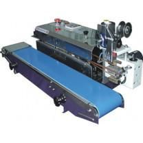 Band Sealer 40'/min Continuous Horizontal Stainless Steel w/ Imprinter AIE-881BSP