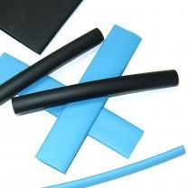 "100' x 1/16"" Reel of Black Heat Shrink Tubing"