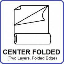Center Folded Polyolefin Film