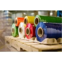 "30"" x 7500' Machine Stretch Film 60 ga. Choose Color - 20 Rolls/Pallet"