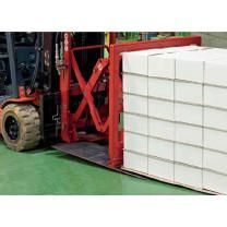 "43"" x 51"" Ecologistik Anti Slip Sheets - Pallet of 1000 Sheets"