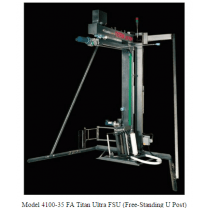 Cousins 4100-35FA Free Standing U-Post Titan Ultra Stretch Wrapping System