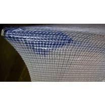 60' x 50' 3-Ply Non-Seamable Reinforced Shrink Wrap - White