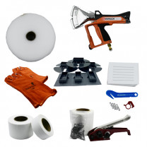 Single Large Boat Shrink Wrap Kit - Heat Gun, Tools & Accessories - Includes Ripack 3000