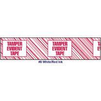 "Printed Tape ""Tamper Evident Tape"" 2""W x 165' - Case of 36 Rolls"
