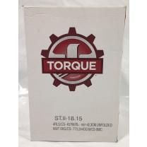 "18"" X 1500' Stretch Wrap 32 Gauge Torque Hand Film (Case of 4 Rolls)"