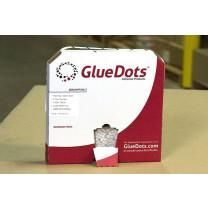 Glue Dots - Case of 16 Rolls - Low Profile, High Tack (4000/roll in dispenser box)