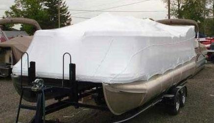 Boat Covers Pontoon | Shrink Wrap Boat Covers