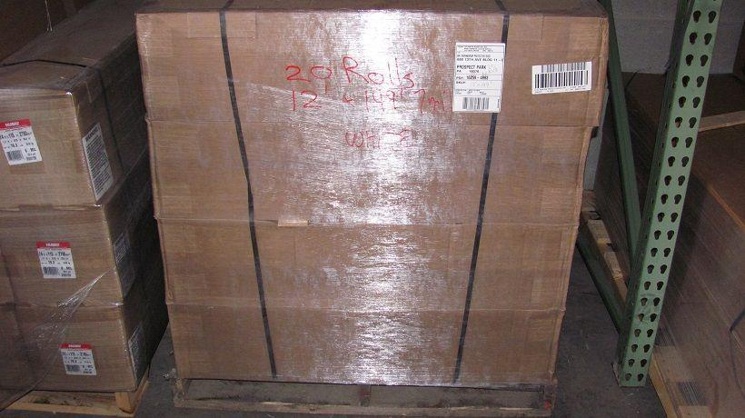 Pallet Shrink Stretch Wrapped