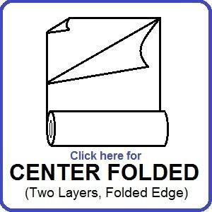 Click Here for Center Folded Polyolefin Films