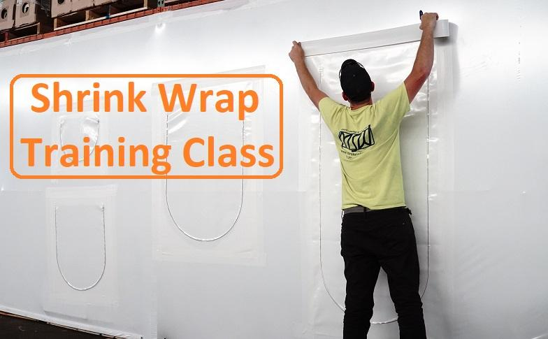 Shrink Wrap Training Class at our Prospect Park, PA location.
